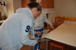 entraînement aux noeuds